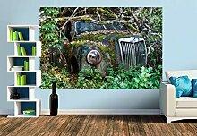 Premium Foto-Tapete Zugewachsen (verschiedene