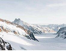 Premium Fototapete berge 396 x 280 cm - 9 Bahnen-