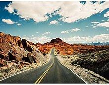 Premium Fototapete Route 66 396 x 280 cm - 9