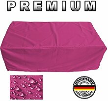 PREMIUM Gartenmöbel Schutzhülle Garten Abdeckung 160cm x 110cm x 75cm Pink / Rosa