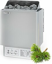 Premium Gartensauna Fides mit Elektro- Saunaofen
