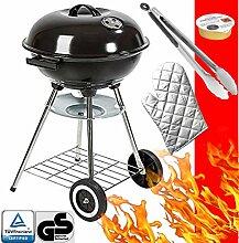 Premium Grillbesteck-Set 4 teilig Grillzange,