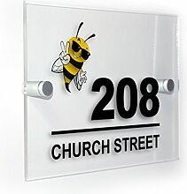 Premium Home Plaques Cool Honey Bee Modern Style