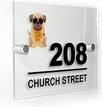Premium Home Plaques Pug Life Dog Modern Style