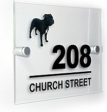 Premium Home Plaques Staffy Staffie Bull Terrier