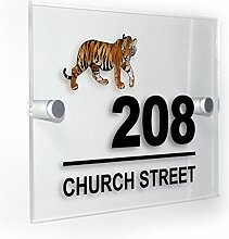 Premium Home Plaques Tiger Modern Style