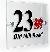 Premium Home Plaques Wales Welsh Dragon Classic