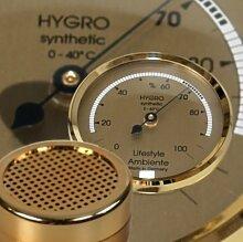 Premium Humidor Upgrade gold klein
