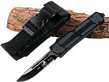 Premium Outdoor Klappmesser Scharf Stahl Messer