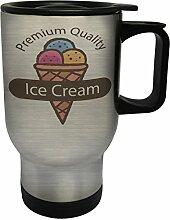Premium-Qualität Eis Geschenk Edelstahl Thermischer Reisebecher 14oz 400ml Becher Tasse g248ts