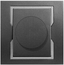 PREMIUM Qualität Schuko Steckdose Ausschalter Taster Lichtschalter QUATTRO GF (Dimmer 1117-18)