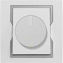PREMIUM Qualität Schuko Steckdose Ausschalter Taster Lichtschalter QUATTRO (Dimmer 1117-10)