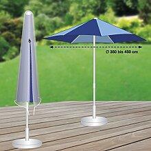 Premium Schutzhülle mehr Garten Sonnenschirm Partyschirm Durchmesser 350 - 450 cm