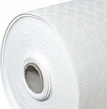 Premium Soft Tischpolster Weiss Eckig 140x130 cm · Länge & Breite wählbar - Tischschoner Wassersicht Schutz Tischdecke