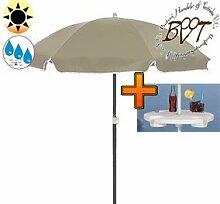 PREMIUM-Sonnenschirm UV50+sonnendicht mit