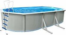 Premium Stahlwandpool Pool 610 x 360