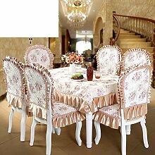Premium Stoff Sitzbezüge Set/Dining Stuhl Sitzbezug-A