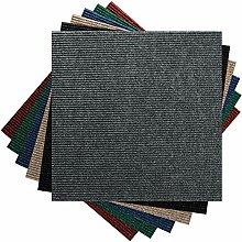 Premium Teppichfliesen Nadelfilz - 1m² -
