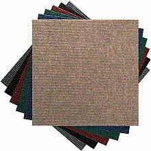 Premium Teppichfliesen Nadelfilz - 1m² - beige -
