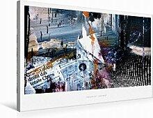 Premium Textil-Leinwand 75 cm x 50 cm Quer Ein