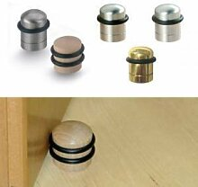 Premium Türstopper Echtholz oder Stahloptik (Buche)