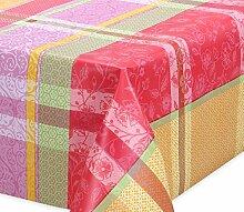 Premium Wachstuch LFGB Tischdecke für Garten und