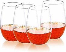 Premium Weinglas, unverwüstlich, bruchsicher, 14