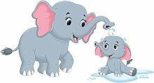Premiumdesign Wandtattoo Wandsticker Elefanten
