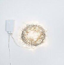preqù Italien D2027Draht-Lichterkette 3.6W,