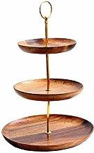 presentimer 3 Stufiger Holz Obst Etagere Etagen