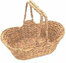 Presentkorb, Einkaufskorb, Pilzsammelkorb aus