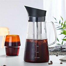 Presse Kaffeemaschine Glas Kaffeekanne, Presse