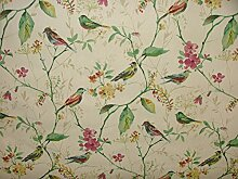 Prestigious Textiles Orchidee Birdsong Baumwolle