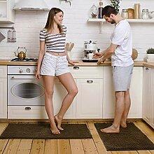 Pretigo Küchenteppich-Sets braun