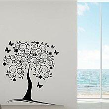 Pretty Tree Vinyl Selbstklebende Tapete Dekor