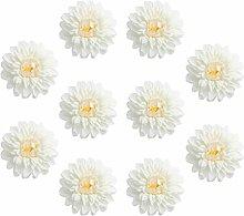 Prettyia 10x Schaumrosen Kunstblume künstlicher