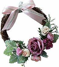 Prettyia Blütenkranz Rosenkranz Blumenkranz