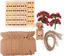Prettyia Hochzeit Party Gastgeschenk Verpackung,