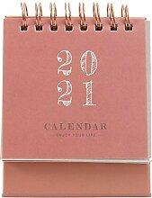 PRETYZOOM Tischkalender 2021 Kalender Planer