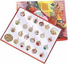 PRETYZOOM Weihnachten Adventskalender Füllen mit