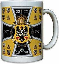 Preußen Kaiserreich Kaiserstandarte 1870 EK Adler