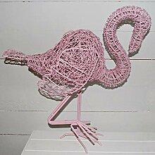 Prezents.com Prezentsman Flamingo-Drahtskulptur