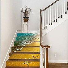 PriceXes DIY Kreative Treppen-Aufkleber,