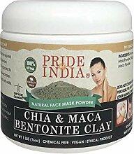 Pride Of India Chia & Maca Bentonitton natürliche