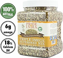 Pride Of India triple Omega chia Flachs & Sesam