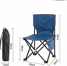 PRIDE S Outdoor Klappstühle Portable Beach Freizeit Stühle Falten Hocker Mazar Fishing Chair Rückenlehne Schreiben Stuhl Bank Outdoor Stuhl (Farbe : F)