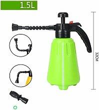 PRIDE S Wanxiang Kopf Haus Gartenarbeit Bewässerung Spray Hochdruck Wasser Flasche Druck Bewässerung Spray Flasche Druck Sprinkler ( farbe : Grün , größe : 1.5l )