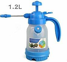 PRIDE S Wasser Spray Dosen Haushalt Wasser Sprayer Sprinkler Werkzeuge Kleine Sprayer Pneumatische Transparente Gießkannen ( farbe : B , größe : 1.2l )