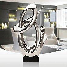 PRIDE S Wohnaccessoires Wohnzimmer-Dekoration-Dekoration Kreative Moderne Büro Keramik Crafts ( farbe : A )