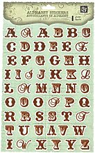 PRIMA 536619Raspberry Tee Jelly Alphabet